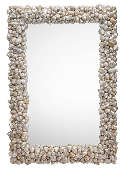 Shell Encrusted Mirror, Oly Studio