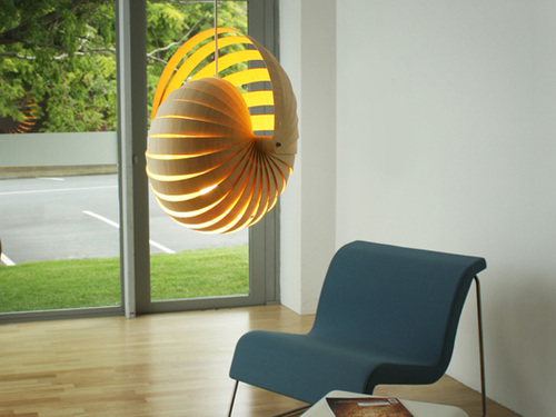 Nautilus Pendant  designed by  Rebecca Asquith