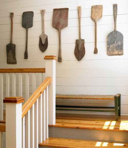 Vintage Swedish snow shovels