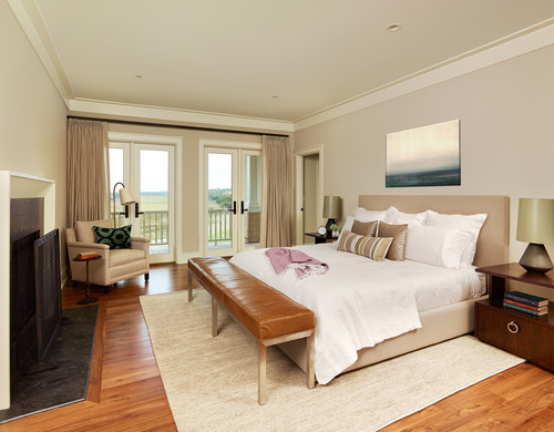 Beach Style Bedroom  by  Charleston General Contractors   Structures Building Company