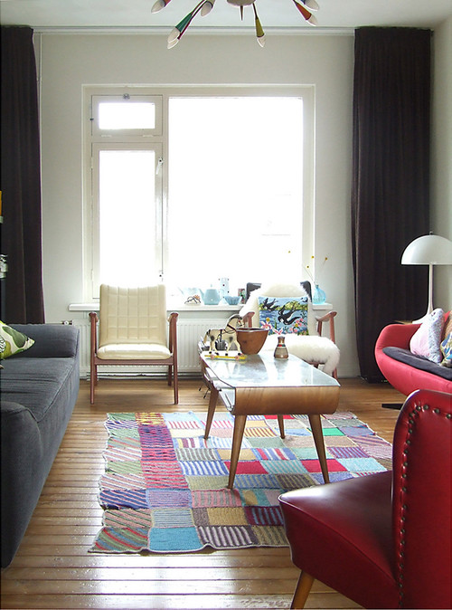 Midcentury Living Room  by  Amsterdam Media & Bloggers   Ninainvorm