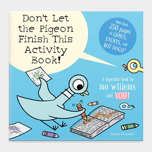 Activity Book from Mo Willems and My Favorite NYC Pigeon