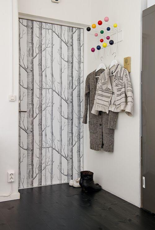 A Camouflaged Door
