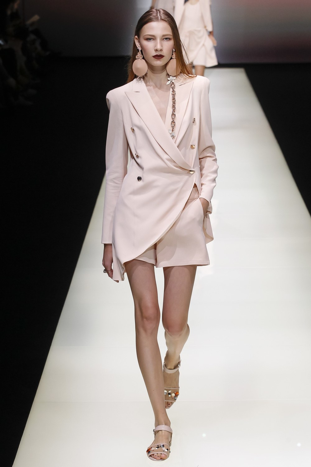 Spring Ready to Wear from Emporio Armani via Vogue.com