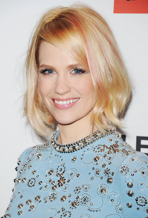 January Jones via  Instyle.com