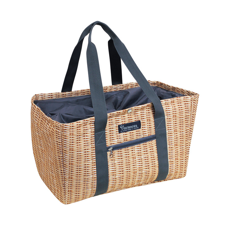 Do your hosts really need a shopping tote/cooler? Yes! Especially this faux picnic basket cooler from  Time Concept.