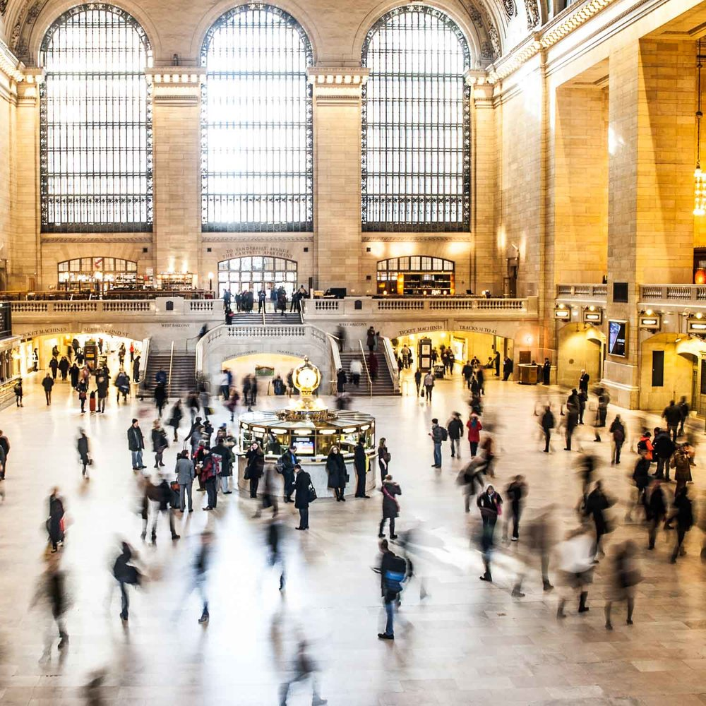Grand Central Terminal Time Lapse