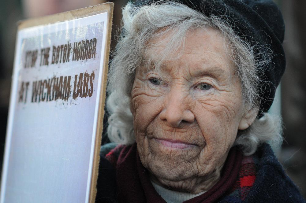 Vivisection Activist Helen Nelson