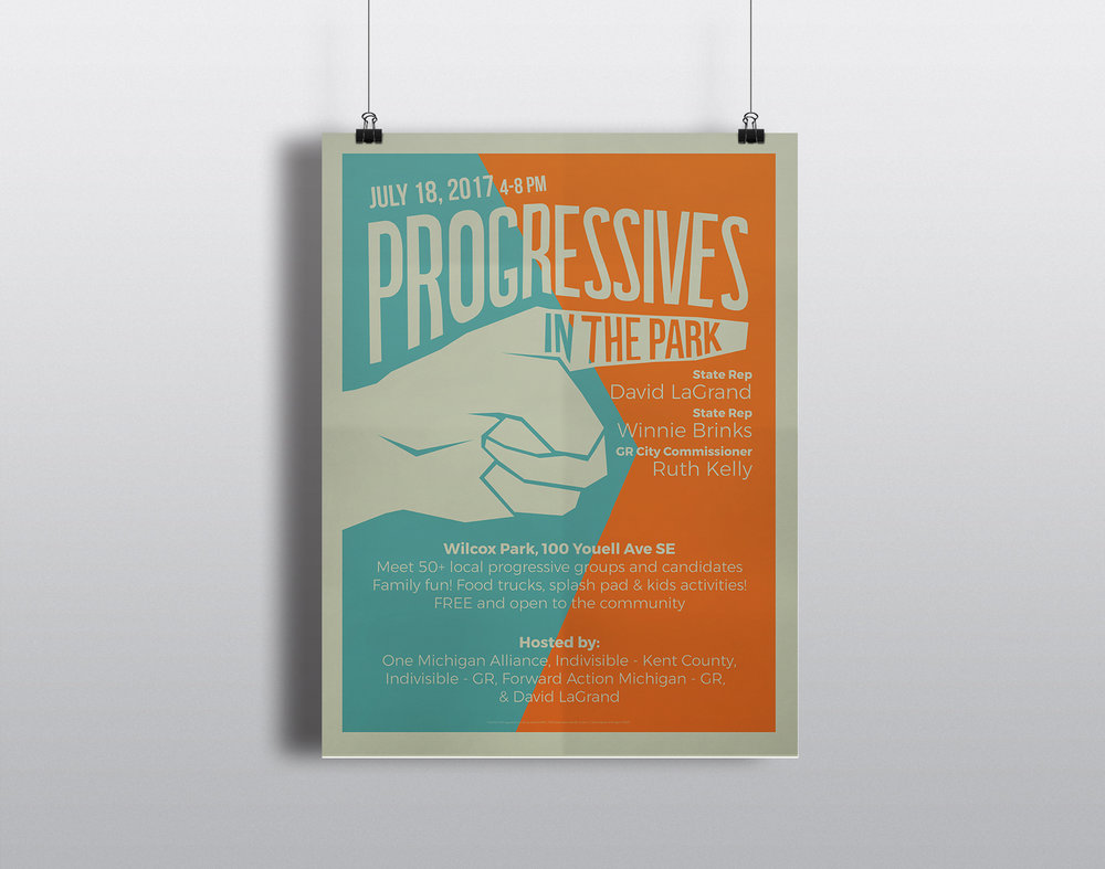 Progressives Grand Rapids Poster