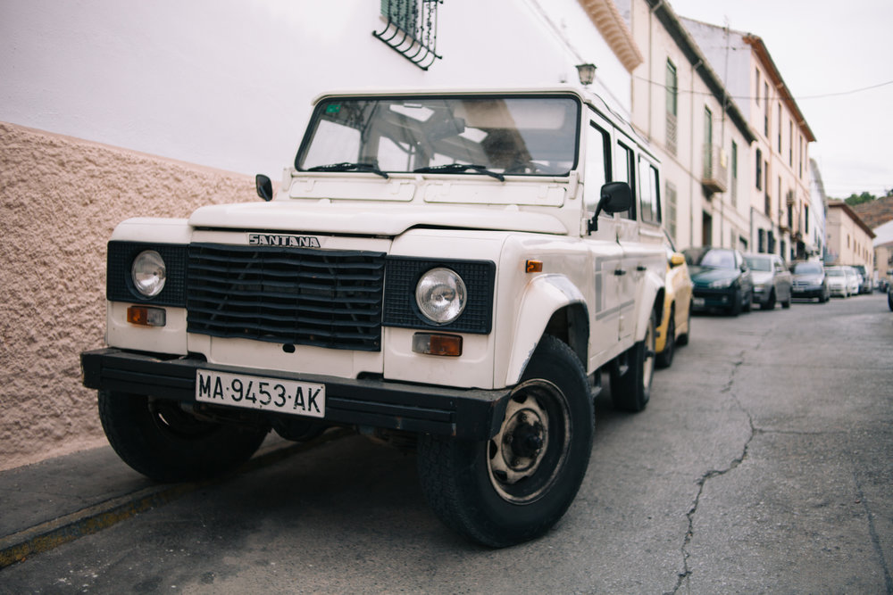 The first Land Rover Santana I ever set my eyes on, in Íllora