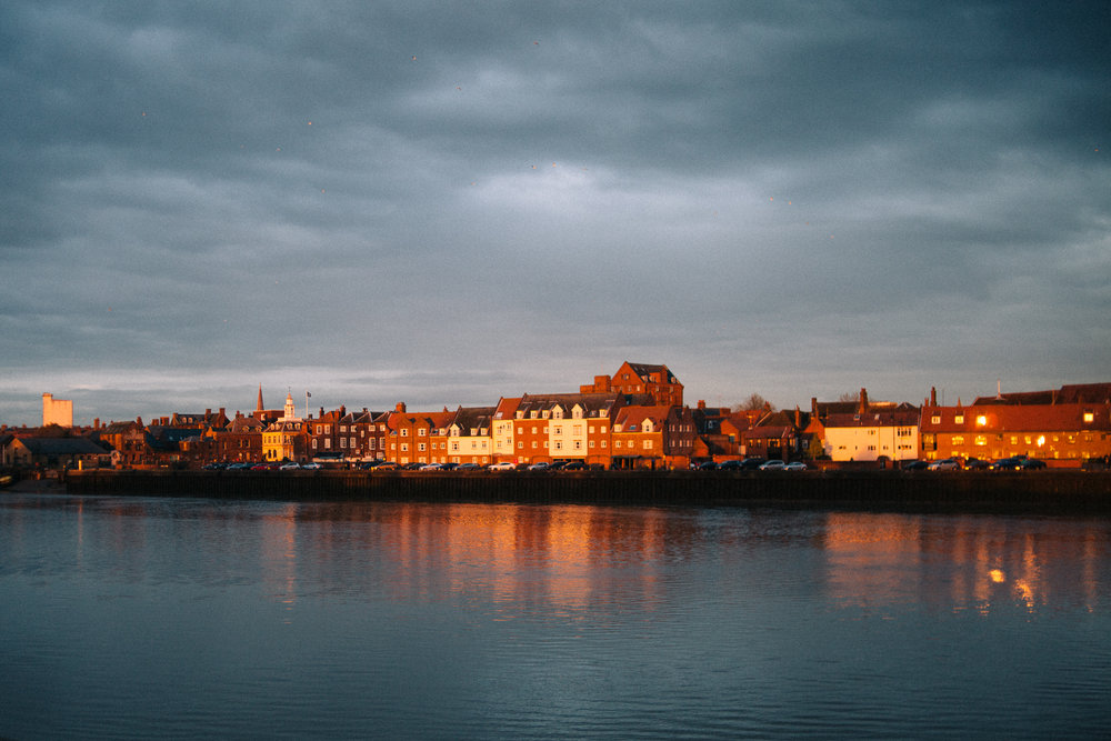 King's Lynn isn't all that interesting, but it looks nice at sunset