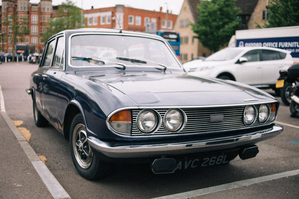 A pristine Triumph 2000 I spotted in Oxford.