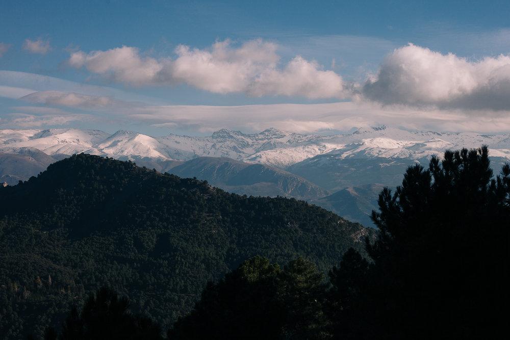 The view from Mirador de Víznar
