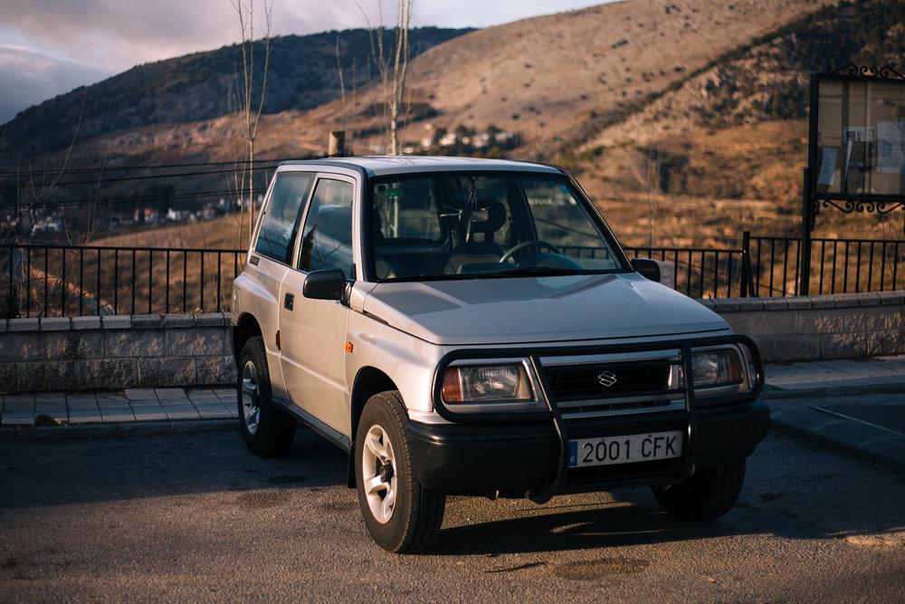 A regular Suzuki Vitara