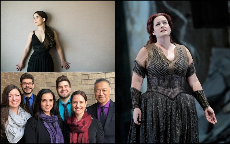 Joélle Harvey, Elza van den Heever, and the Oriana Singers