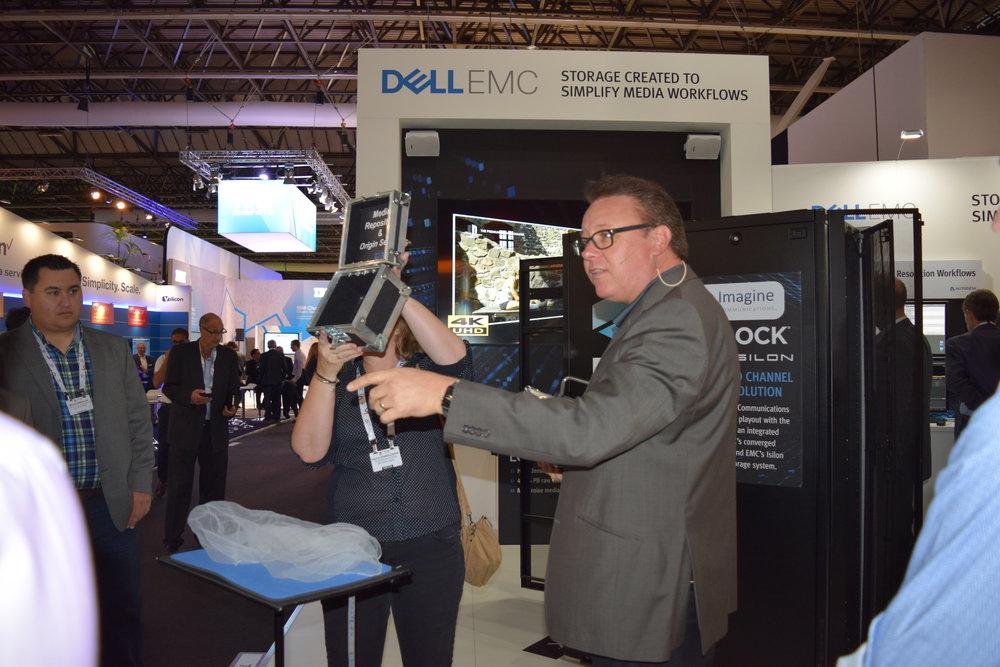 Dell at IBC trade show 2016