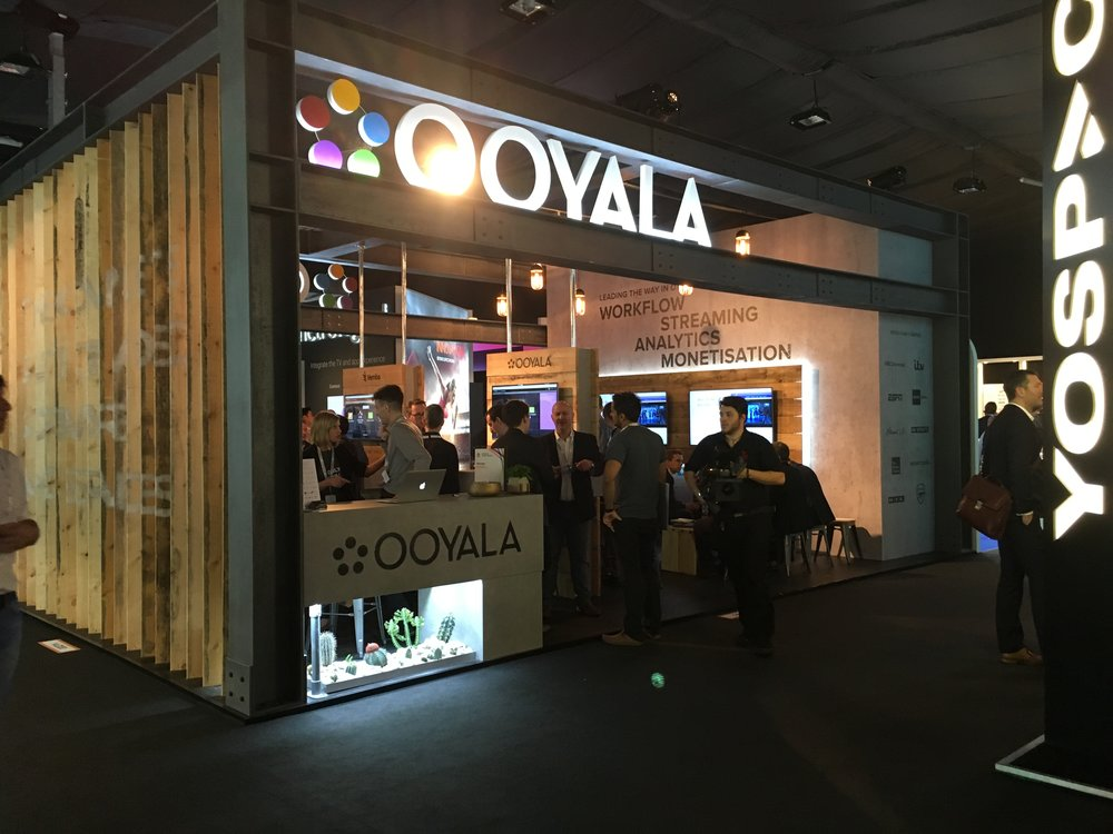 Ooyala at IBC trade show 2016
