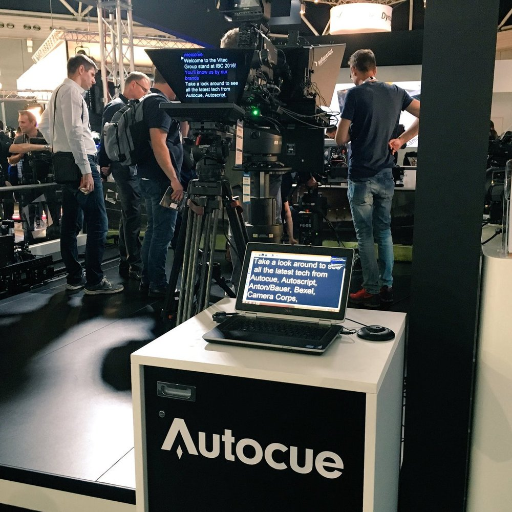 Autocue at IBC trade show 2016