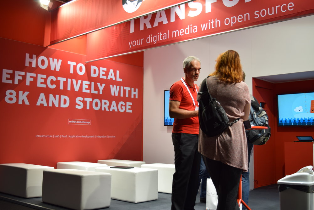 Red Hat at IBC trade show 2016
