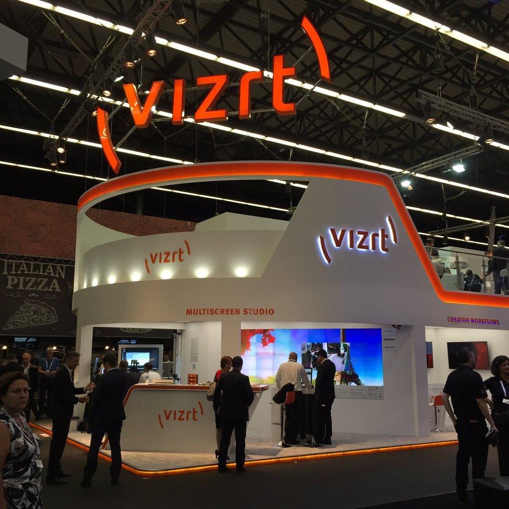 Vizrt at IBC trade show 2016