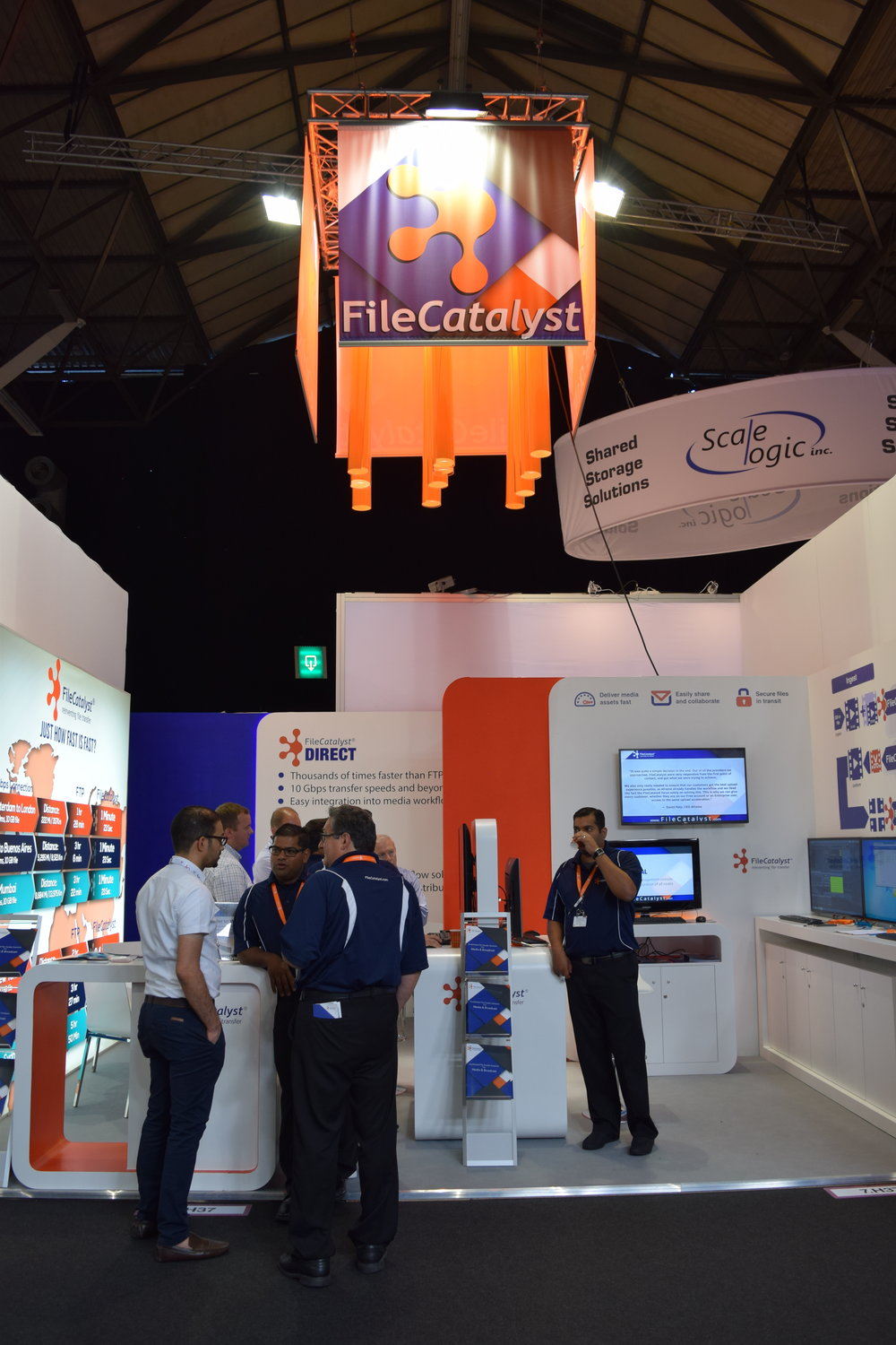 File Catalyst at IBC trade show 2016