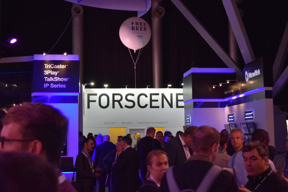 Forscene at IBC trade show 2016