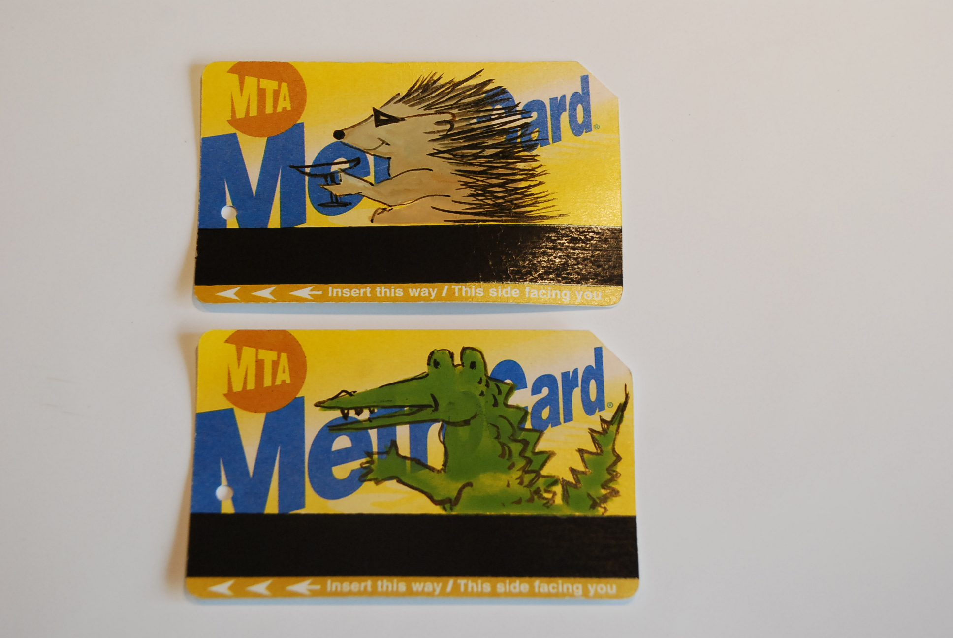 Lancelot and Agile's new business venture, personalized Metro cards