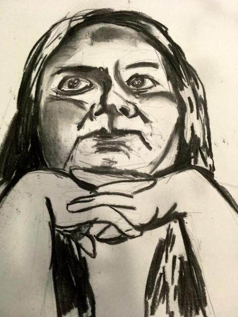 Portrait of Mexican artist in Oaxaca, 2017