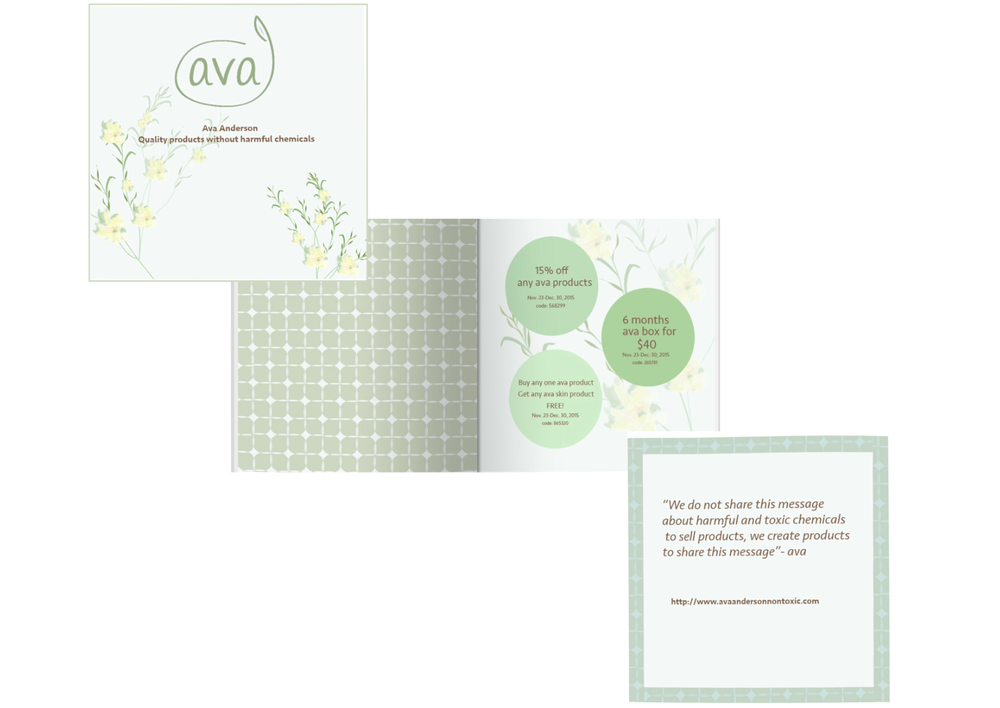 Ava Anderson Coupon Booklet