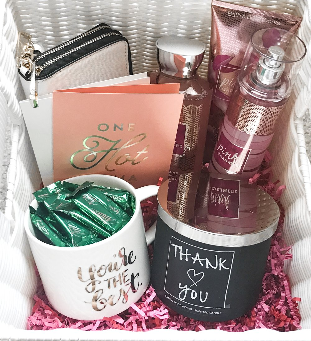 THE PERFECT GIFT BASKET - all the goodies she needs
