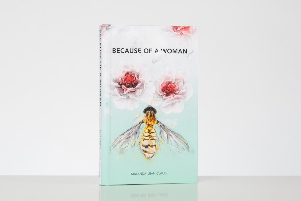 Because of a Woman Book by Malanda Jean-Claude