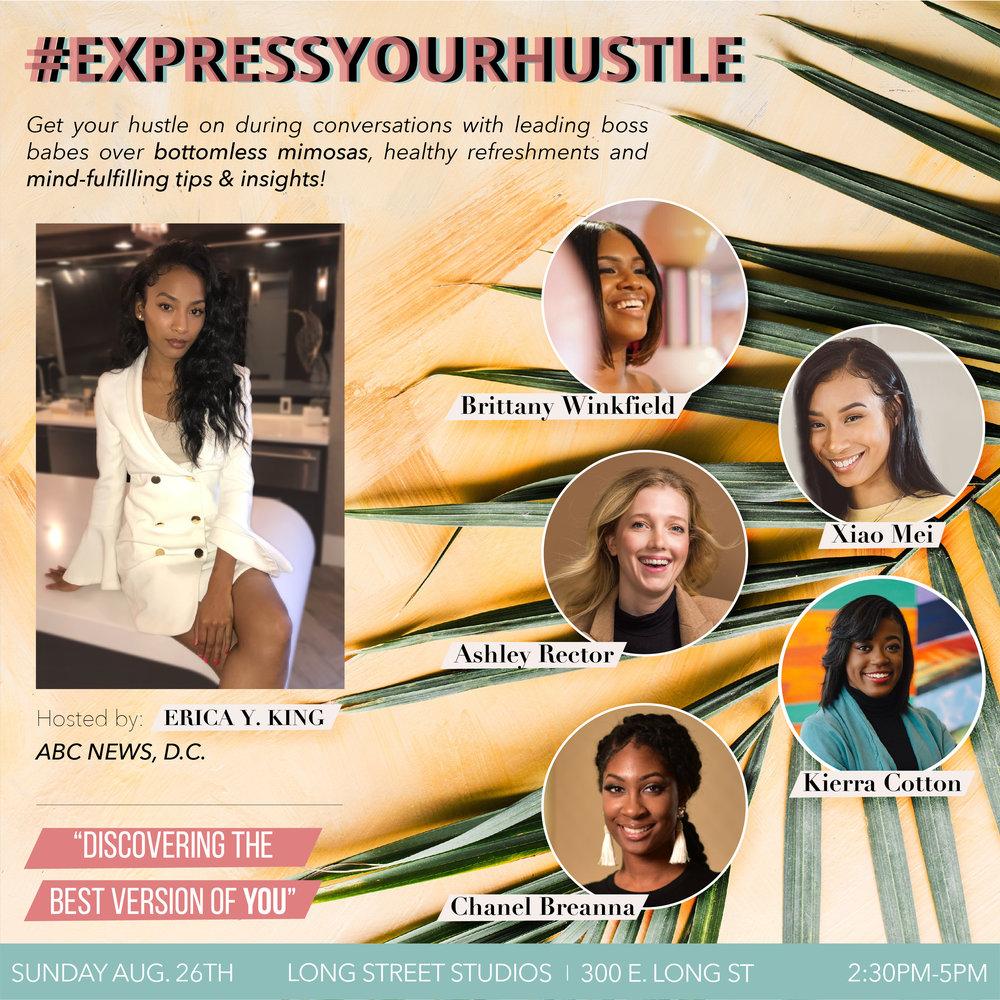#ExpressYourHustle