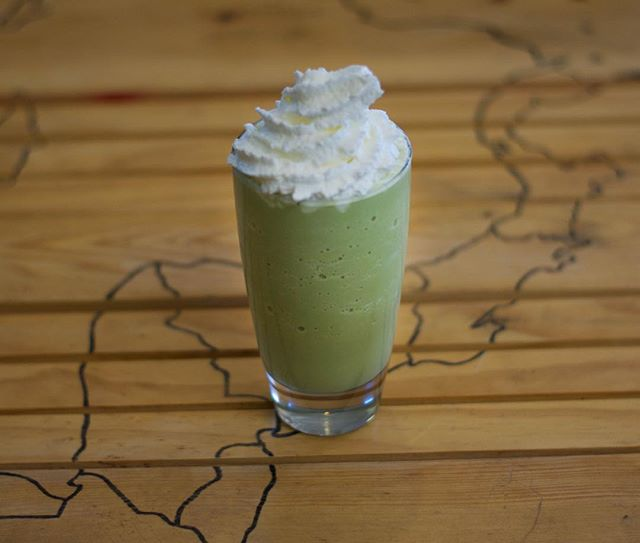 Start the week off right with an #irishmatcha!