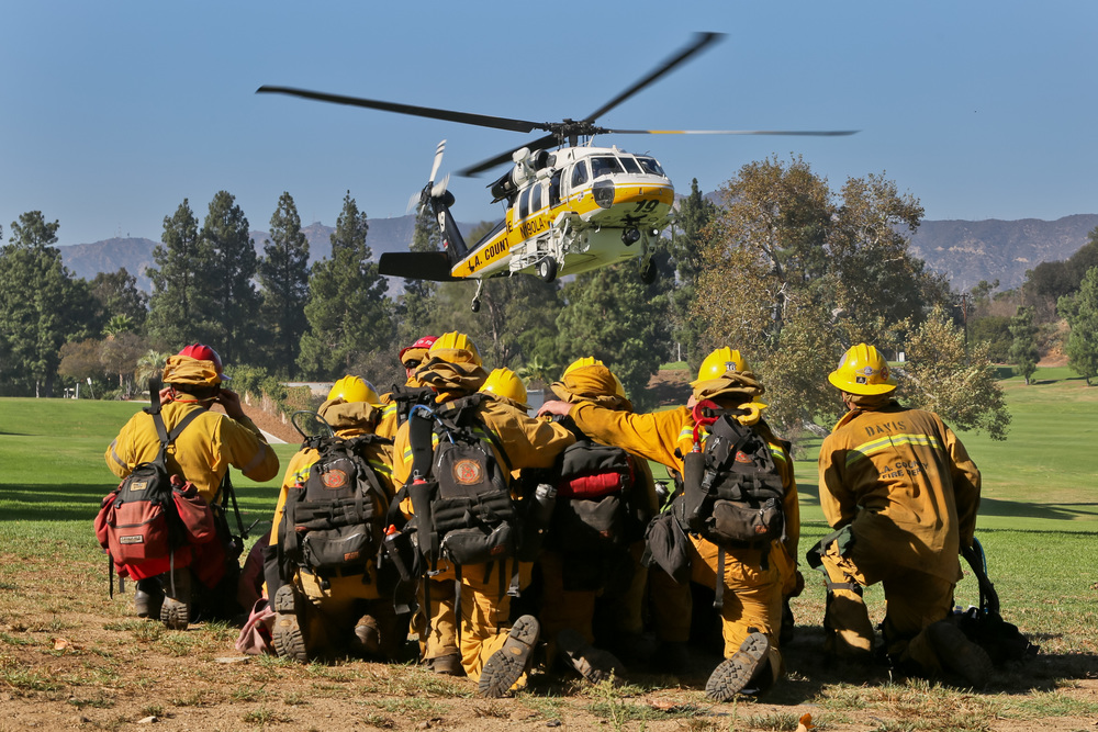 """Griffith Park IC"" Brush Fire 