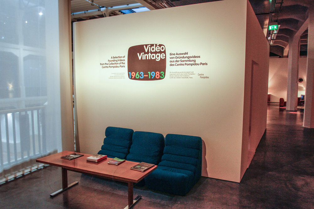 Video Vintage: Video Art from the Centre Pompidou 1963-1983 — John ...