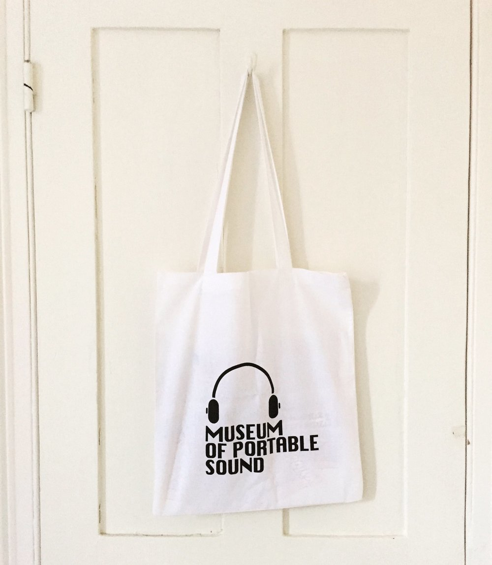 One of the Museum's official tote bags