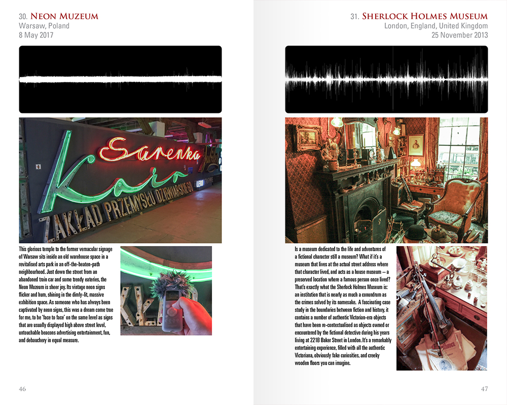 Sample Museums Pages