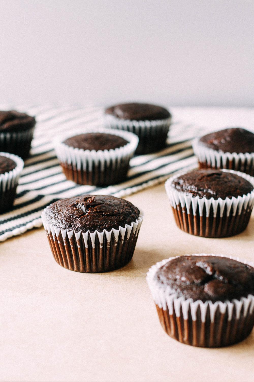 german chocolate cupcakes. — quinn's place
