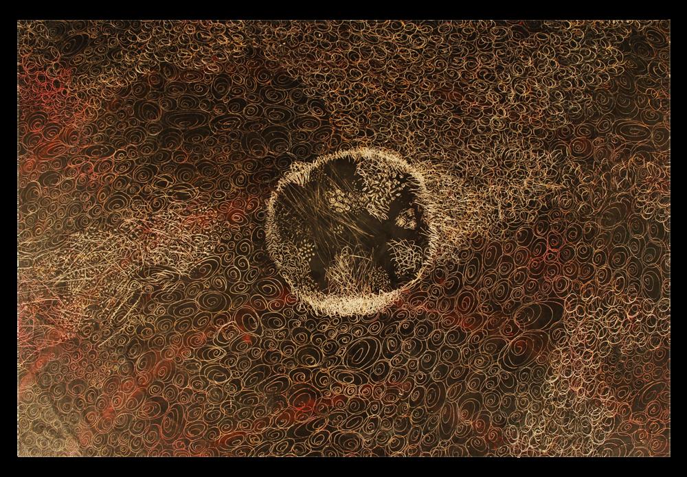 Spiral Scratch #1, DETAIL