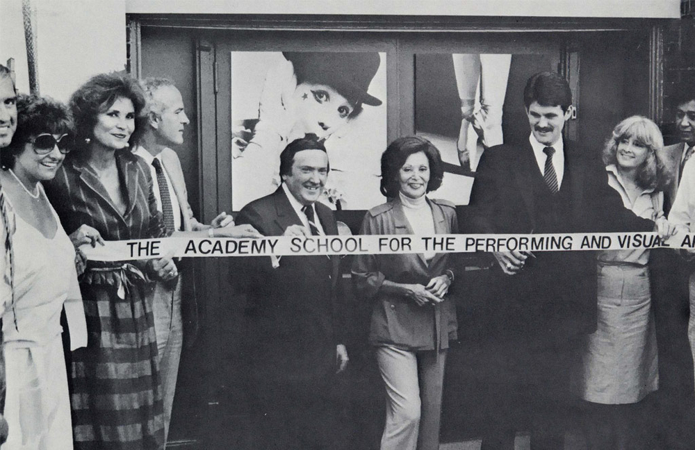 The ribbon-cutting in 1981.