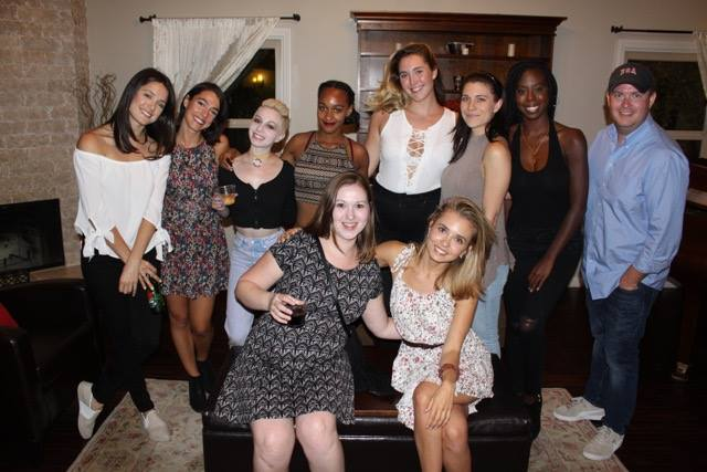 Ali Cobrin, Carrin Elyse, Nikki Keeshin, Brittany Miranda, Allexa D'alessio, Valerie Much, Winter Dunn, Kenchy Ragsdale, Albina Katsman, and Amanda O'Rourke