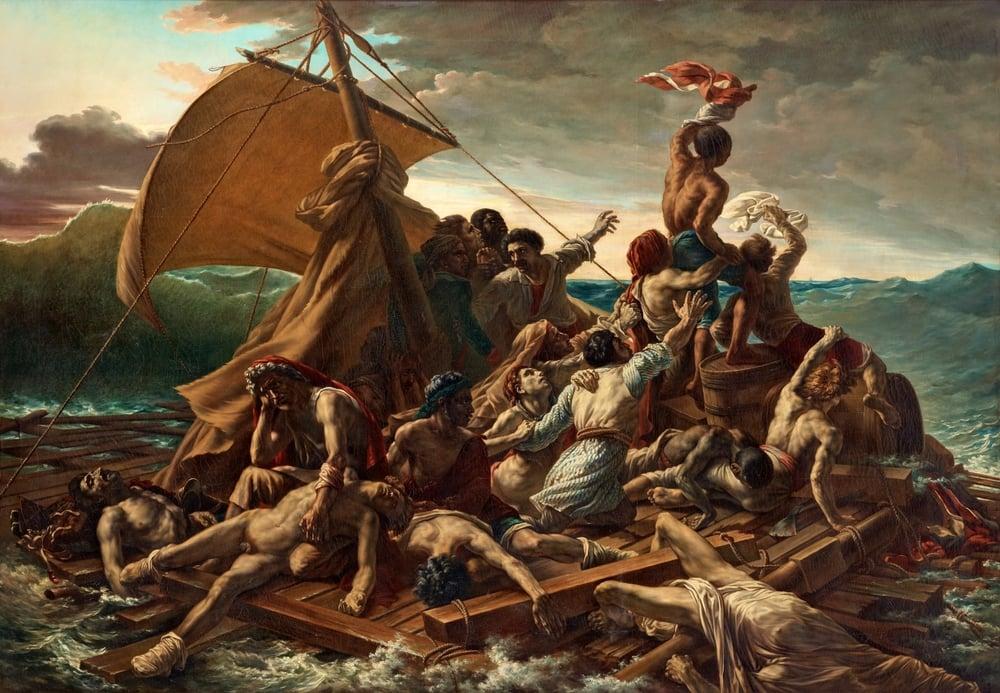 Théodore Géricault,The Raft of the Medusa 1818–1819.