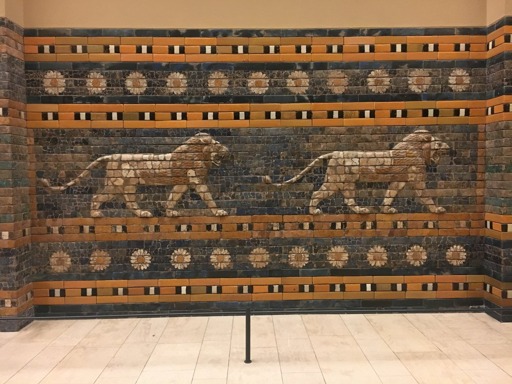 Pergamon-Museum_Ishtar-Gate_Lion-detail