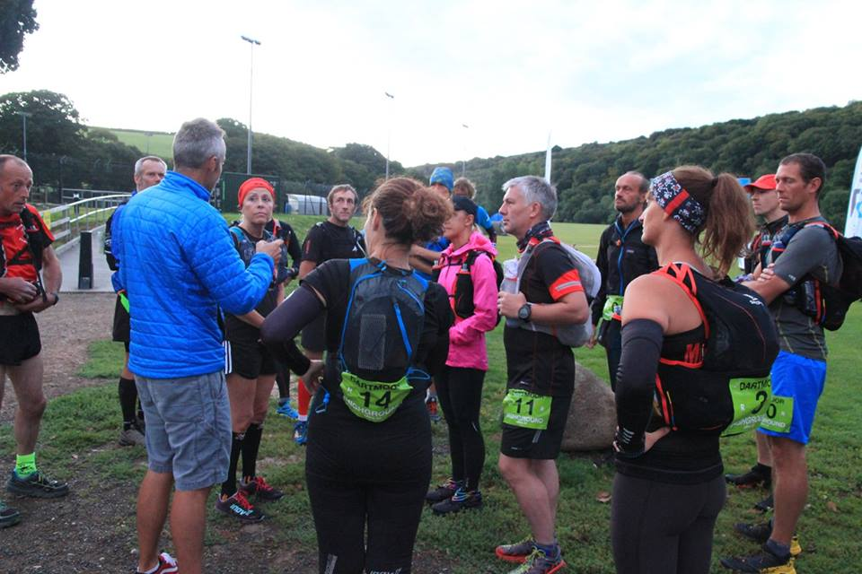 Telling the 50 runners about some intricacy of the route they probably didn't need to know before starting them off (I can be a bit too specific sometimes)
