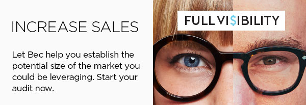 increase sales with Full Vi$ibility