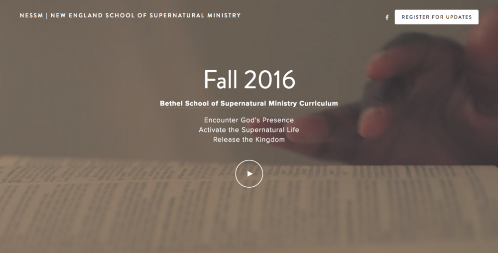 New England School of Supernatural Ministry