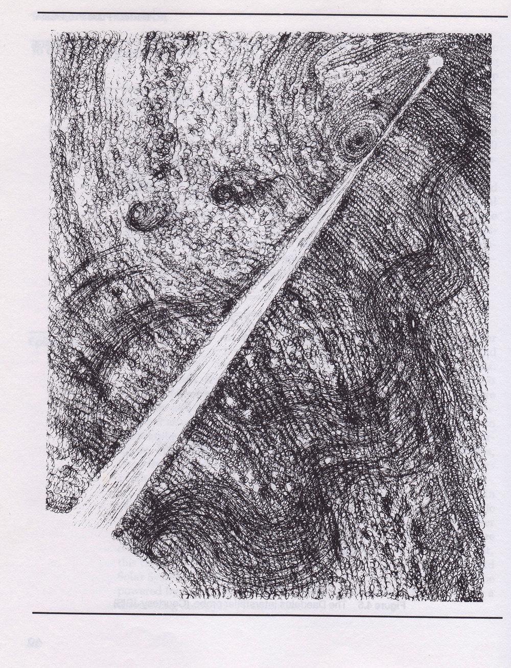 """Beamed"" , by C Bangs, as appears in 'The Starflight Handbook b Greg Matloff'"