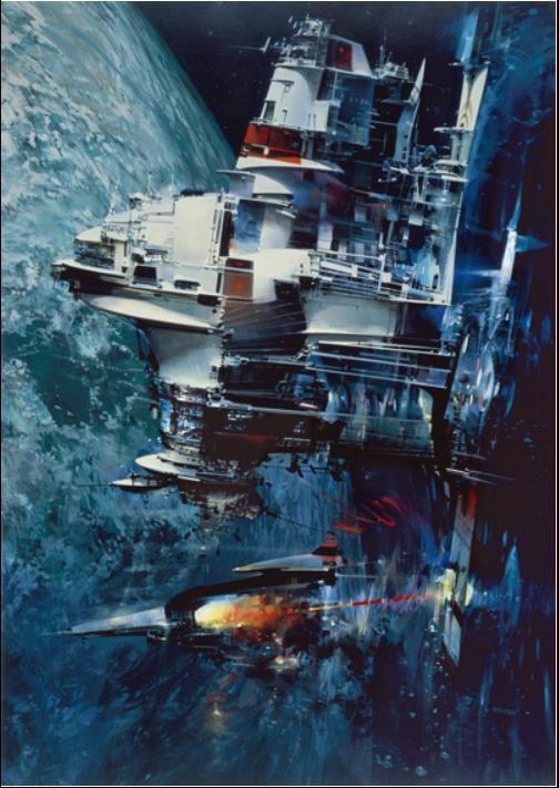 """LightShip"" , by John Berkey"