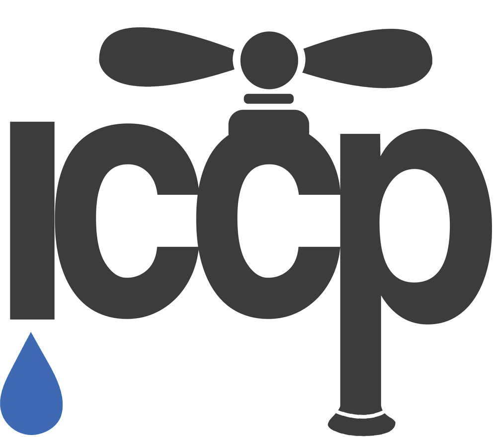 iCCP  ICCP stands for International Coalition of College Philanthropists and is a club that I am a part of on the University of Michigan Campus. I created this logo for them because we had just started working on the Flint Water Crisis and were continuing to look at water issues worldwide.