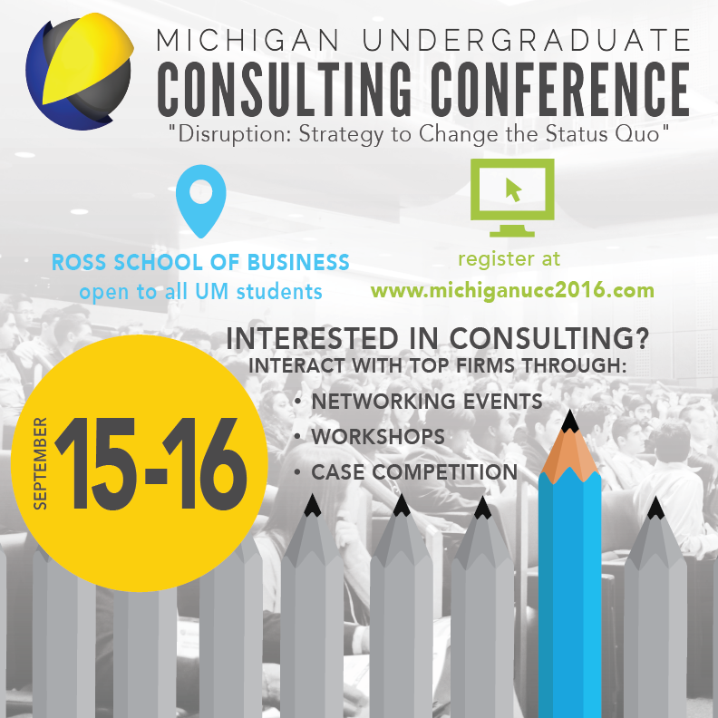 Nexecon consulting conference  Overall collateral design